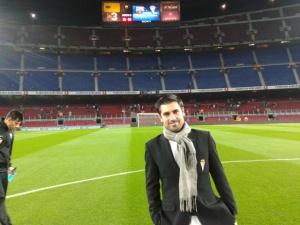 En el Camp Nou