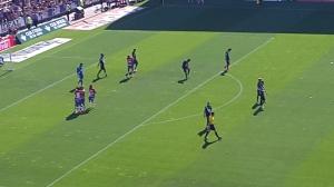 El Granada celebra su segundo gol