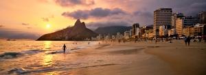 La espectacular playa carioca de Ipanema