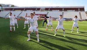 La haka del video promocional del Albacete para su campaña de captación de abonados