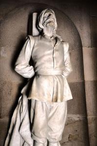 Estatua de Lampart en México, donde está reconocido como un prohombre por la Independencia del país