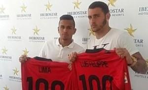 Los brasileños Carioca y Lima, nuevos fichajes del Mallorca