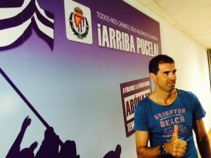 Garitano, feliz tras su fichaje por el Real Valladolid