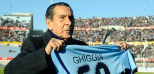 Ghiggia, homenajeado en su país