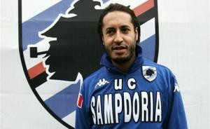 Saadi, en la Sampdoria. Ni debutó.
