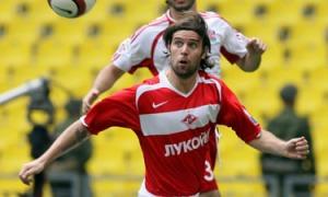 Cavenaghi durante su época en el Spartak de Moscú
