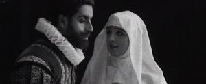 """Fotograma de la película """"Don Juan Tenorio"""" (1922), de Ricardo Baños"""