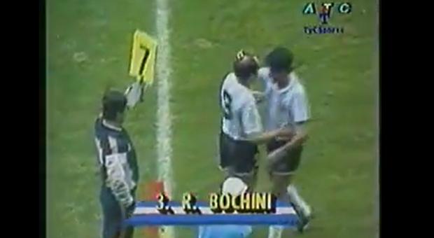 Bochini debutando