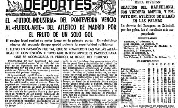 Pontevedra líder