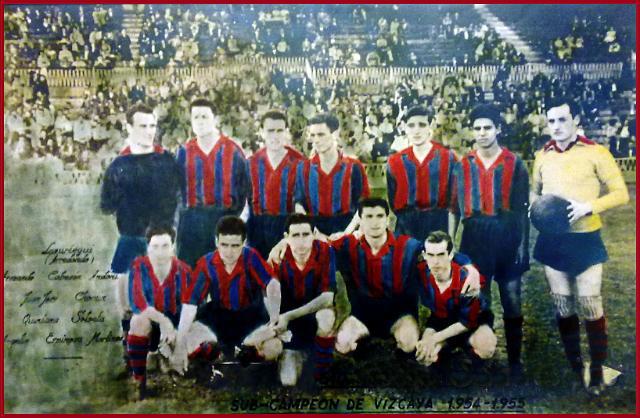 plantilla-san-pedro-sub-campeon-de-vizcaya-1954-55
