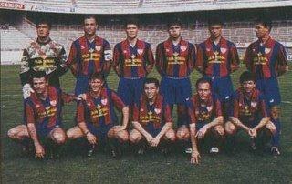 PLANTILLA 1993-94